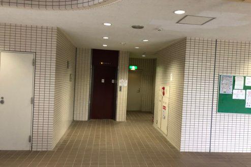 27.茂原一棟マンションスタジオ|共用部・エレベーターホール