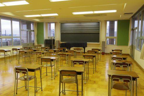 4.埼玉県中学校|音楽室