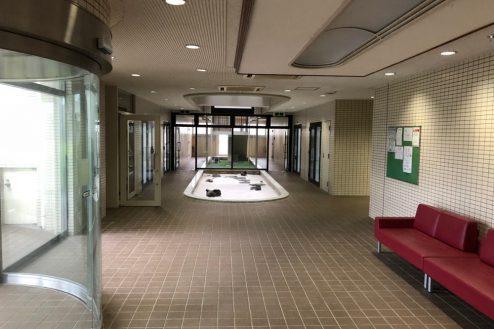 17.茂原一棟マンションスタジオ|エントランスホール