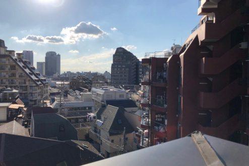 8.新宿屋上|屋上からの景色