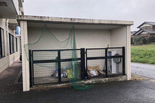 29.茂原一棟マンションスタジオ|ゴミ捨て場