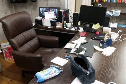 6.神田オフィス|社長デスク
