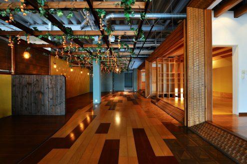13.大型スタジオ|A棟・イタリアンレストラン
