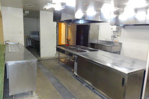 11.大型スタジオ|A棟・レストラン・厨房