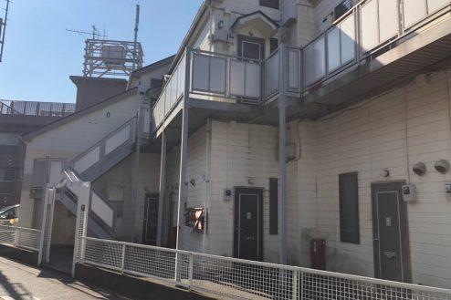 11.川崎市アパート|外観