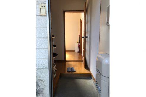 7.川崎市アパート|玄関