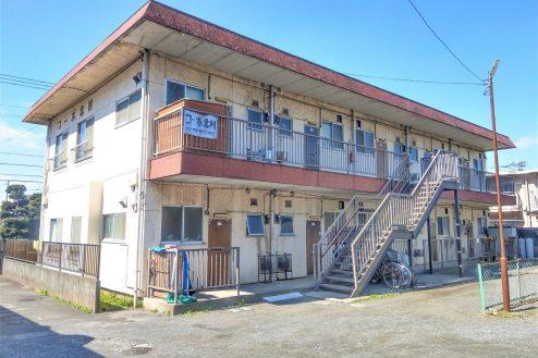 スタジオ和洋空間 アパート|昭和レトロ・和室・廊下・階段・外観・共用部|東京