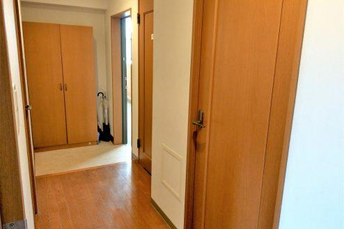9.スタジオ和洋空間 マンション|室内・玄関