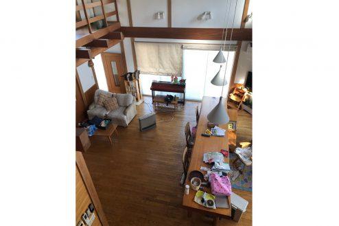 10.川崎市 日本家屋|リビング・俯瞰