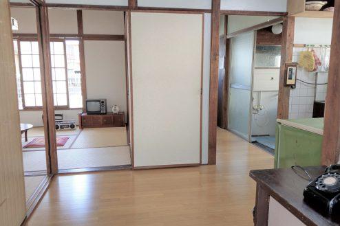 13.スタジオ和洋空間 古民家①|台所・和室