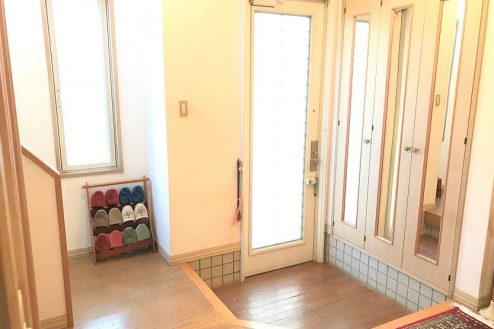 5.スタジオ和洋空間 一軒家|玄関