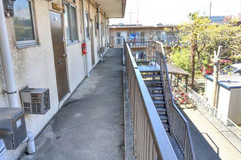 11.スタジオ和洋空間 アパート|共用部・廊下
