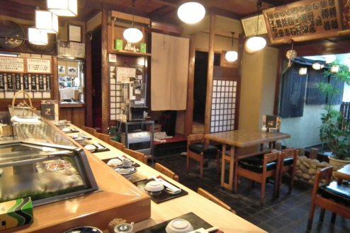13.扇寿司|1F店内・カウンター・テーブル席