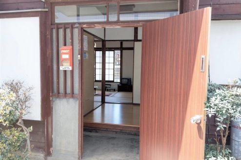 14.スタジオ和洋空間 古民家①|玄関・ドア