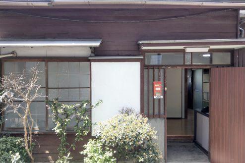 12.スタジオ和洋空間 古民家①|外観・玄関ドア