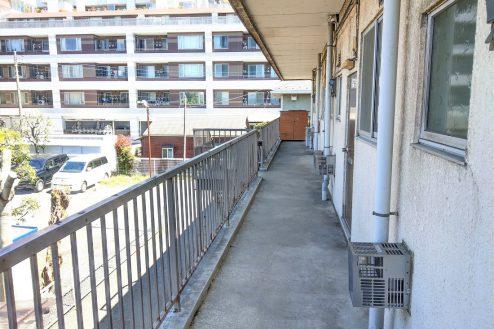 12.スタジオ和洋空間 アパート|共用部・廊下