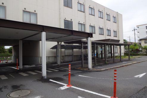 16.旧病院|玄関前通路・玄関