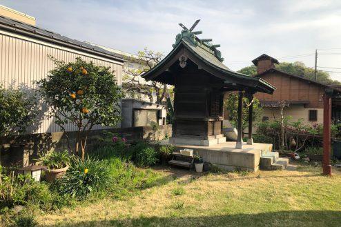 17.川崎市 日本家屋|庭・お稲荷様