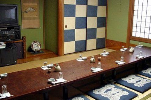 14.寿司屋・西葛西|1F店内・座敷(10畳)