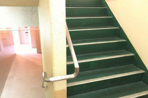 20.スタジオ和洋空間 マンション|共用部・階段