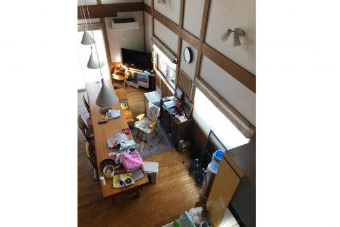 11.川崎市 日本家屋|リビング・俯瞰