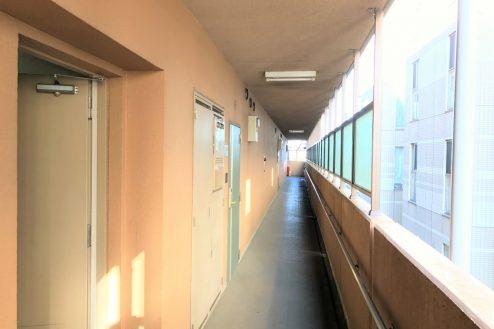 3.スタジオ和洋空間 マンション|共用部・廊下
