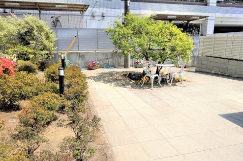 26.スタジオ和洋空間 マンション|共用部・中庭