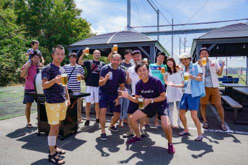 15.J-SOCIETY FOOTBALL PARK調布|BBQ風景
