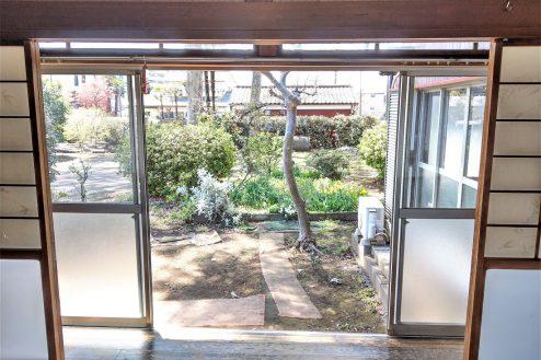 19.スタジオ和洋空間 古民家②|縁側・庭