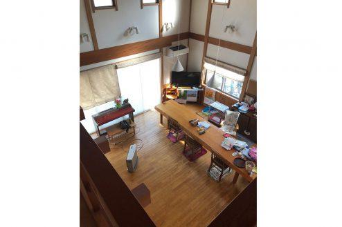 8.川崎市 日本家屋|リビング・俯瞰