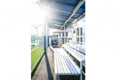 5.J-SOCIETY FOOTBALL PARK調布|ベンチ