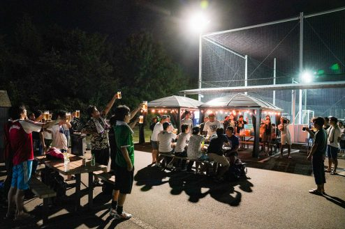 24.J-SOCIETY FOOTBALL PARK調布|BBQ風景・夜景