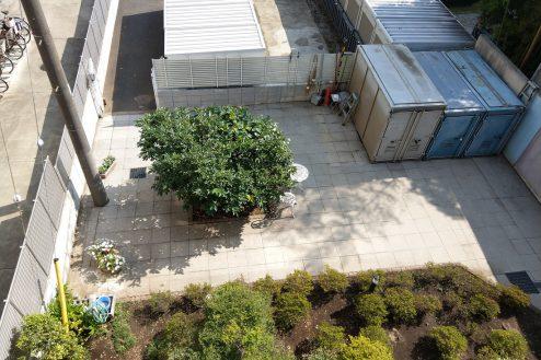 22.スタジオ和洋空間 マンション|共用部・中庭俯瞰