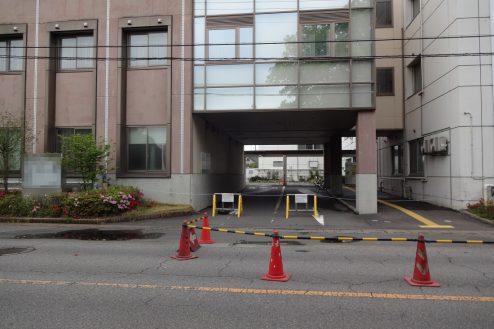 24.旧病院|敷地内出入口