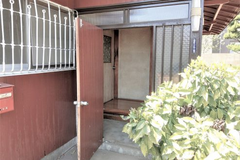 24.スタジオ和洋空間 古民家②|玄関(外)