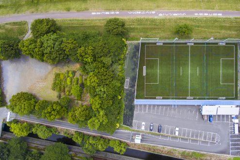 3.J-SOCIETY FOOTBALL PARK調布|施設全景・空撮