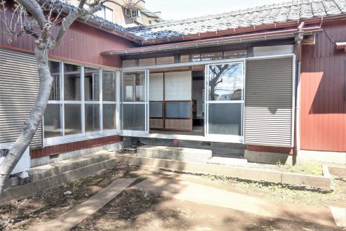 1.スタジオ和洋空間 古民家②|外観・縁側