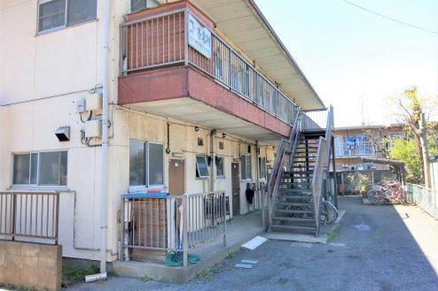 3.スタジオ和洋空間 アパート|外観