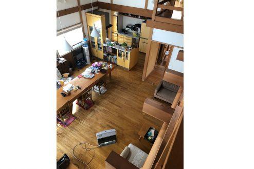 2.川崎市 日本家屋|リビング・俯瞰
