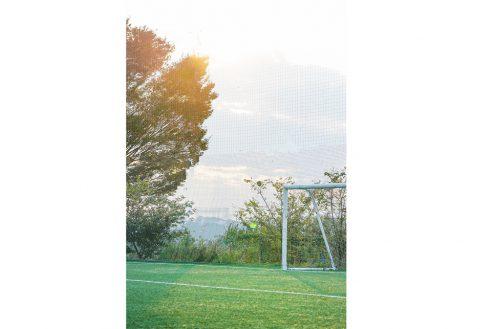 20.J-SOCIETY FOOTBALL PARK調布|コート・夕景