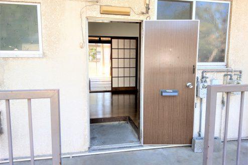 16.スタジオ和洋空間 アパート|104号室・玄関ドア