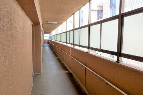12.スタジオ和洋空間 マンション|共用部・廊下