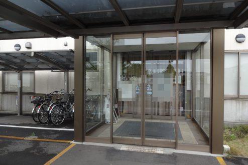 18.旧病院|玄関