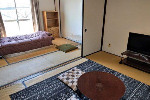 1.スタジオ和洋空間 アパート|204号室・和室