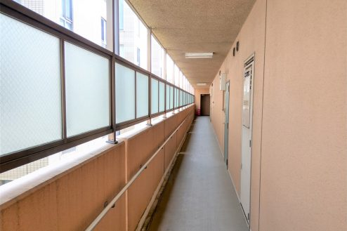 13.スタジオ和洋空間 マンション|共用部・廊下