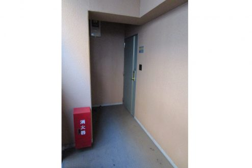 13.スタジオ和洋空間 マンション|室外・扉前
