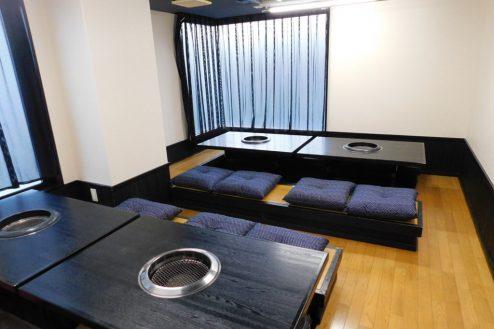6.仙台焼肉 楽亭|掘りごたつタイプのお座敷個室