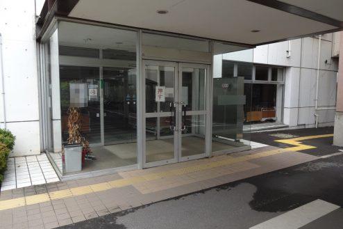 21.旧病院|玄関