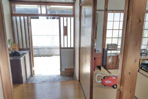 7.スタジオ和洋空間 古民家①|玄関・和室