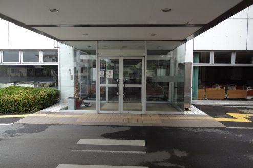 11.旧病院|玄関